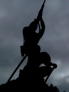 Monumento al Minero. Cangas del Narcea.