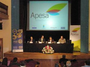 presentación del portal web de APESA