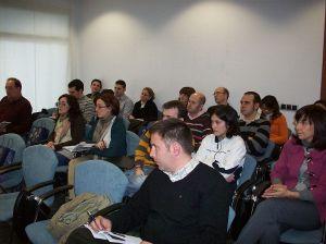 Parte del público asistente al seminario.