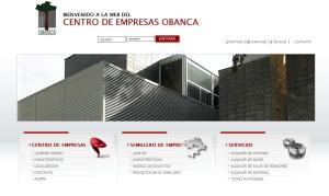 Página web del Centro de Empresas de Obanca
