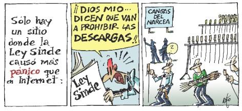 La Ley Sinde by Neto.